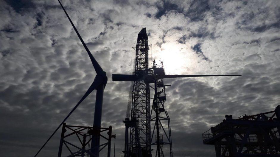 Moray East final turbine