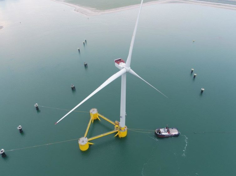The Kincardine Floating Offshore Wind farm