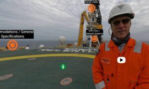 Valaris tour oil rig