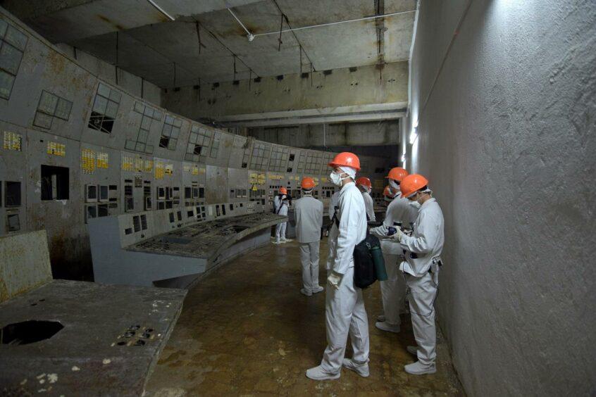 Bristol University Chernobyl