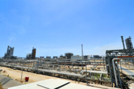 Accident at Kuwaiti refinery sparks fire