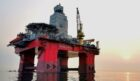 Deepsea Yantai rig. Supplied by Odfjell Drilling