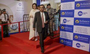 Mukesh Ambani, chairman of Reliance Industries, in 2019.