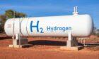 Hydrogen storage tank in Australia