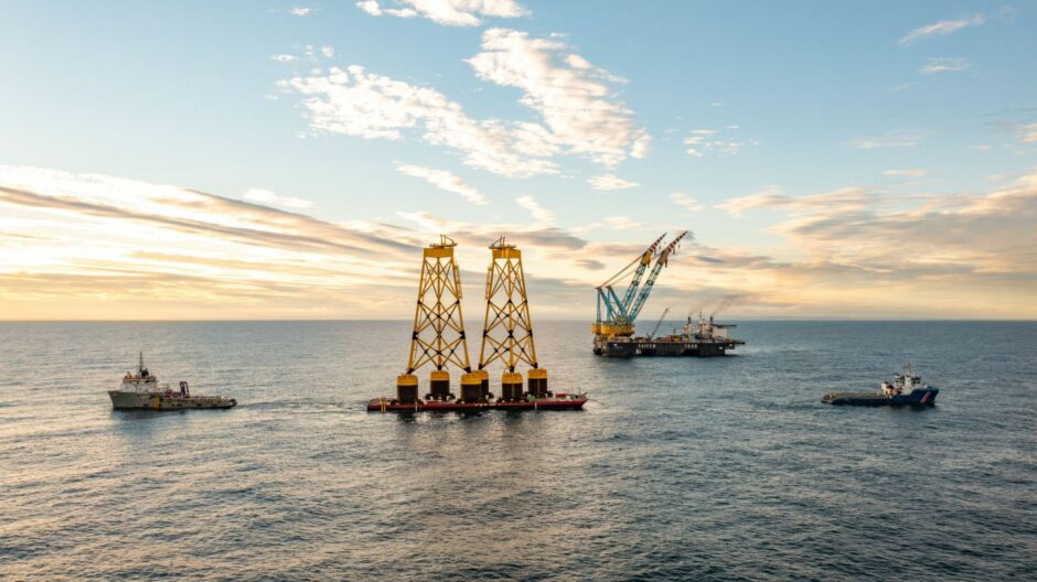 Seaway 7 is managing the engineering, procurement, construction, and installation of Seagreen's 114 wind turbine generator foundations