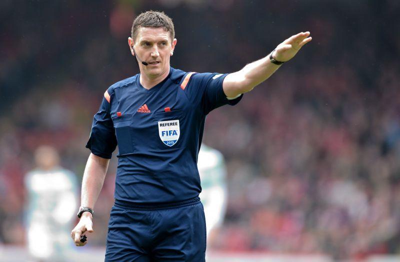 Referee Craig Thomson