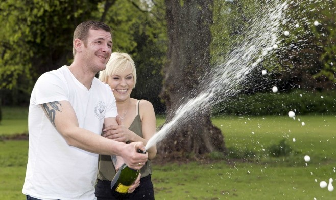 Barry Howie, an offshore mechanic from Buckie, was sent home in a daze this week after he told his boss he had won £378,884.40 in last Friday's EuroMillions draw.