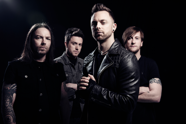 Bullet For My Valentine will play Aberdeen in October. Picture via @BFMVOffical.