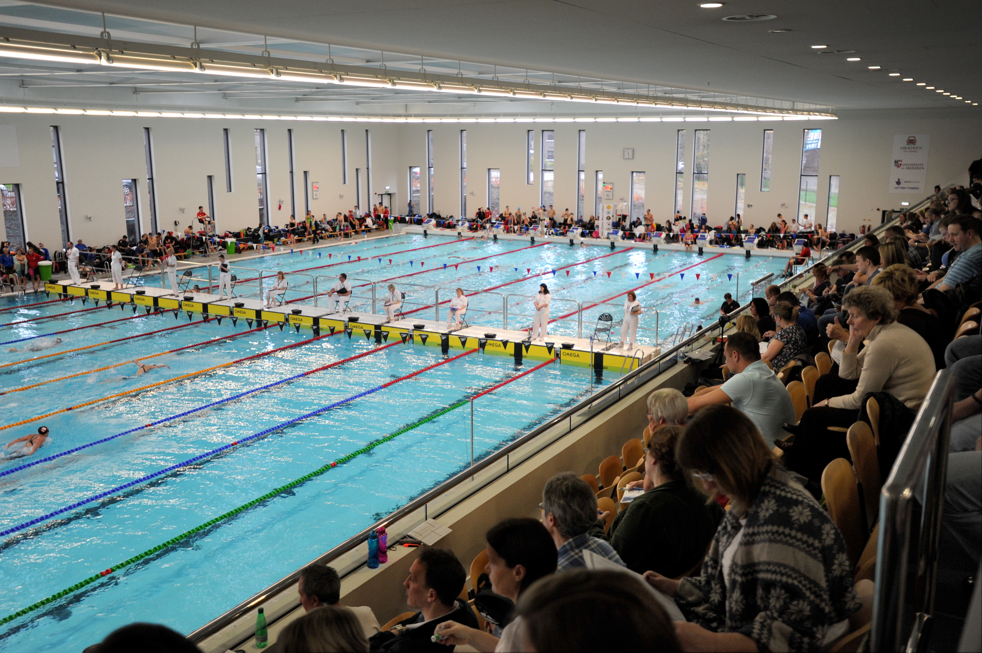 More than 230,000 people have visited the Aquatics centre this year.