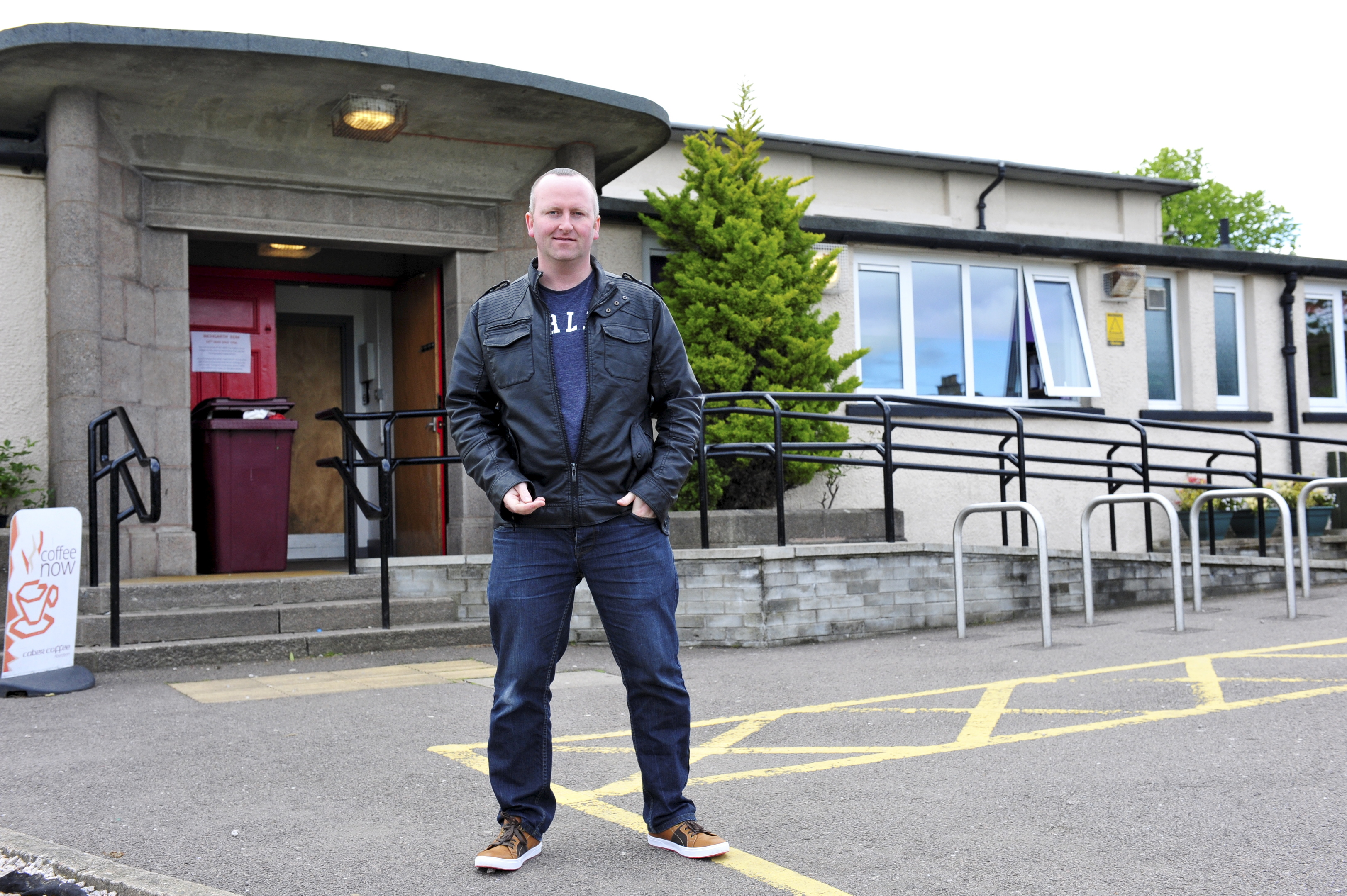 Paul O'Connor has run the youth club in Garthdee for more than 20 years.