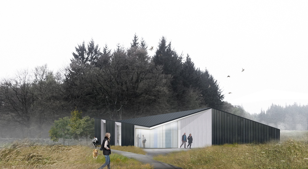 How the new visitor centre at Countesswells could look.