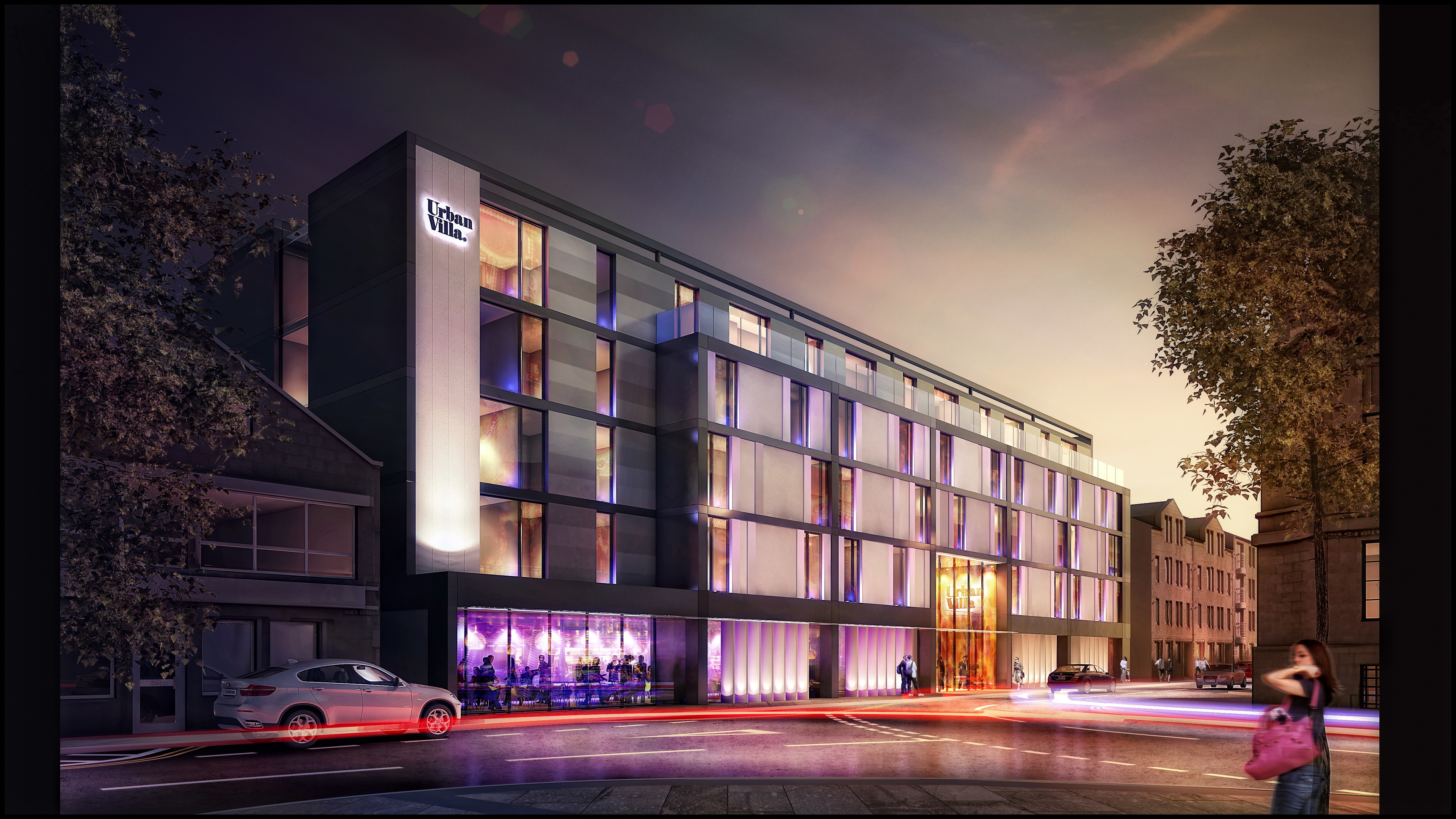 How the new hotel could look.