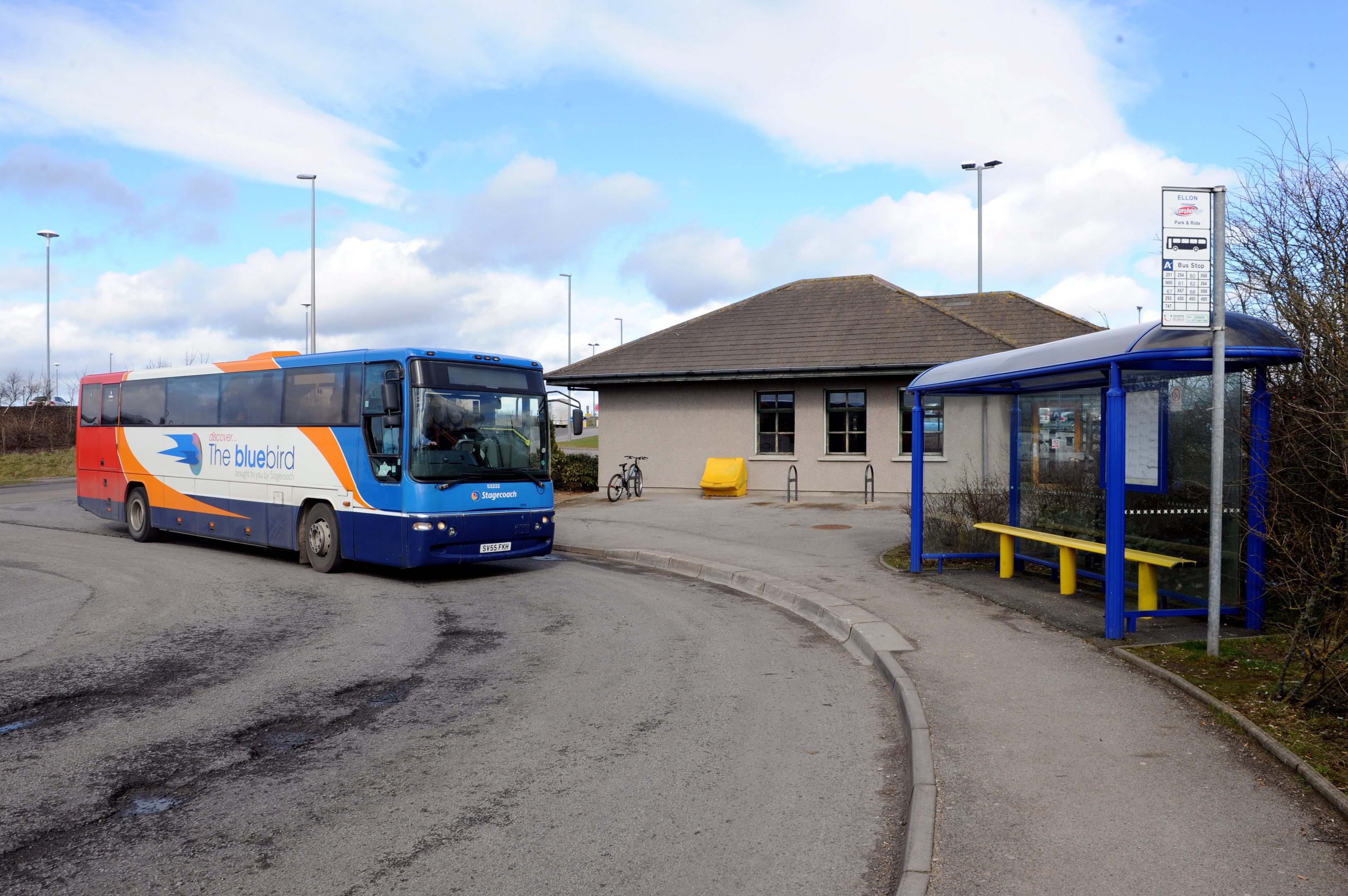 DELAY:  The plans for the park and ride site have been in the pipeline for three years.