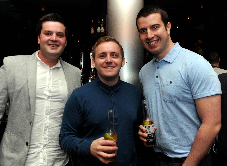 Aarron McIntosh, Jordan Rowson and Neil Simpson.