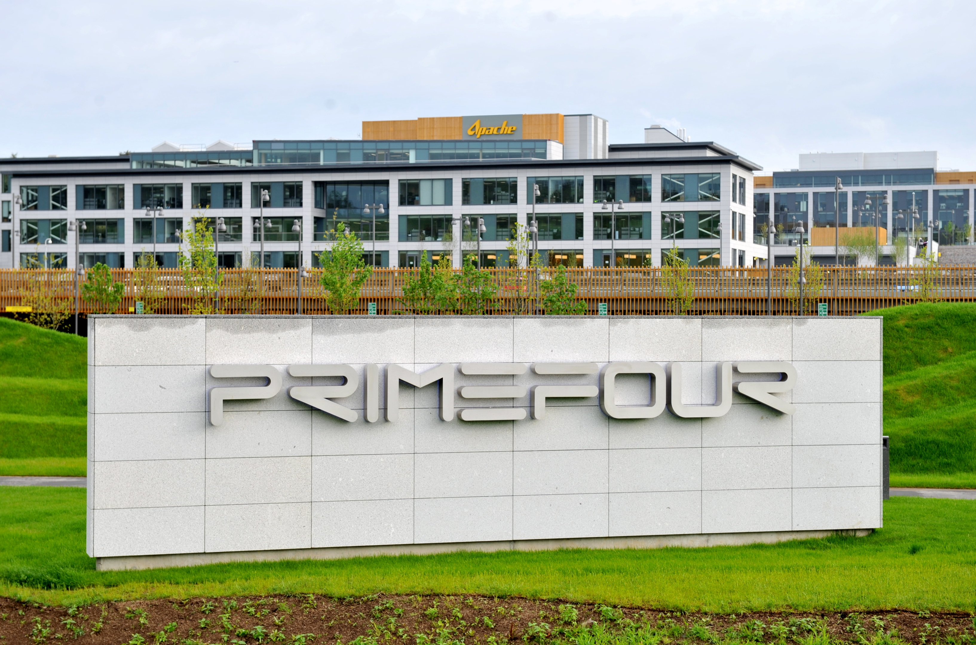 The Prime Four business park at Kingswells.