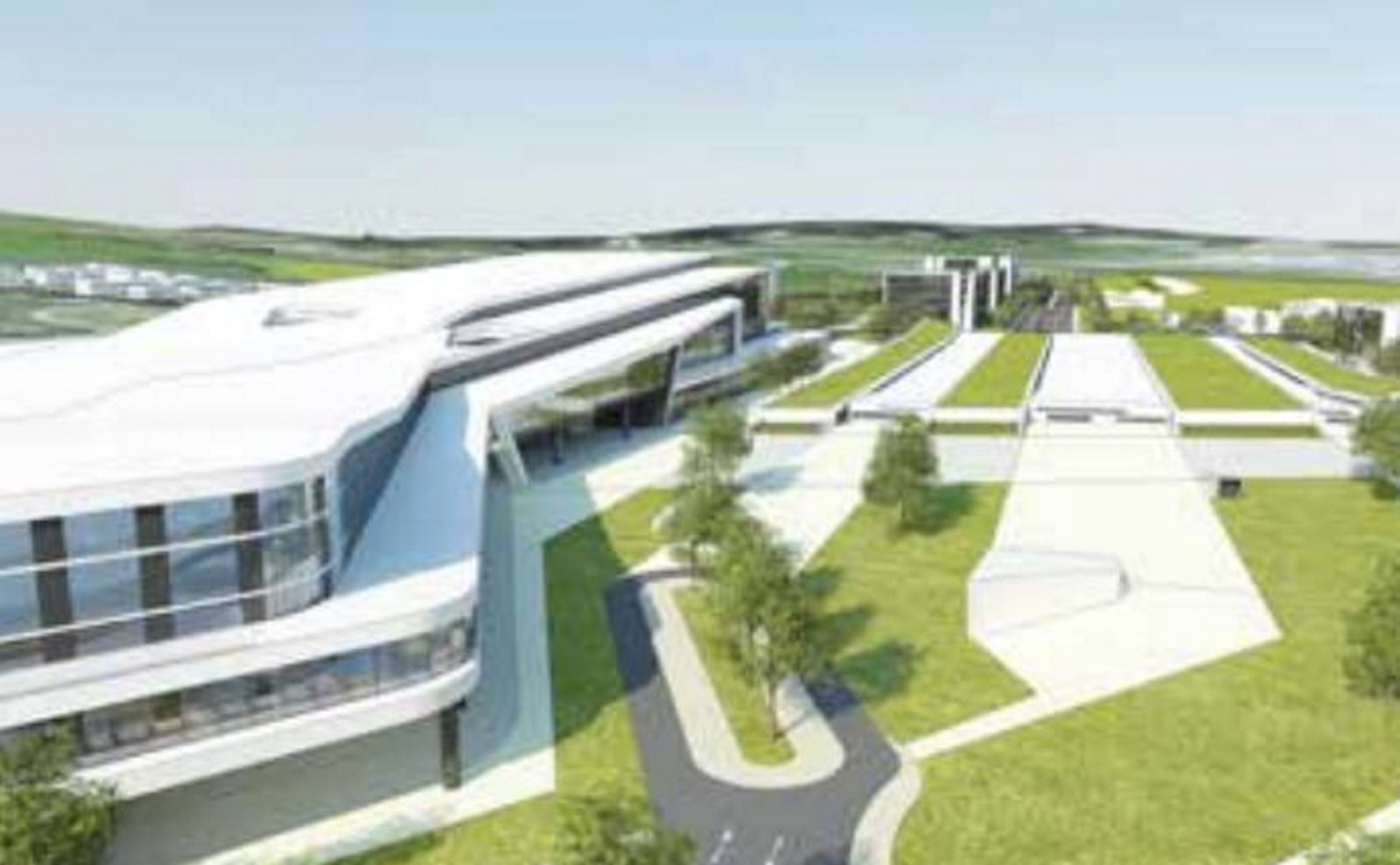 FUTURE VISION:  How the new AECC site at Dyce could look.