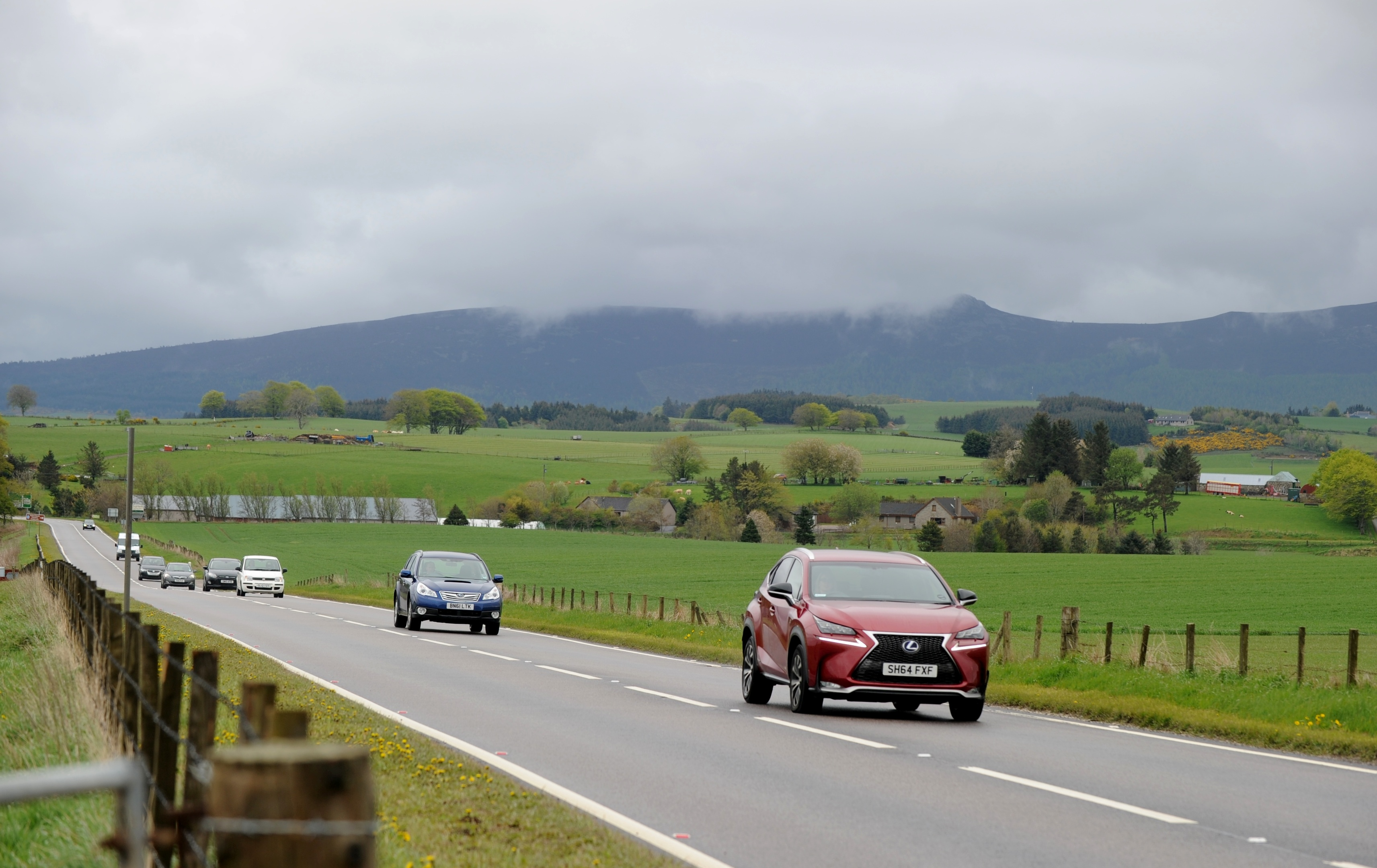 Plans to dual the A96 between Inverness and Aberdeen