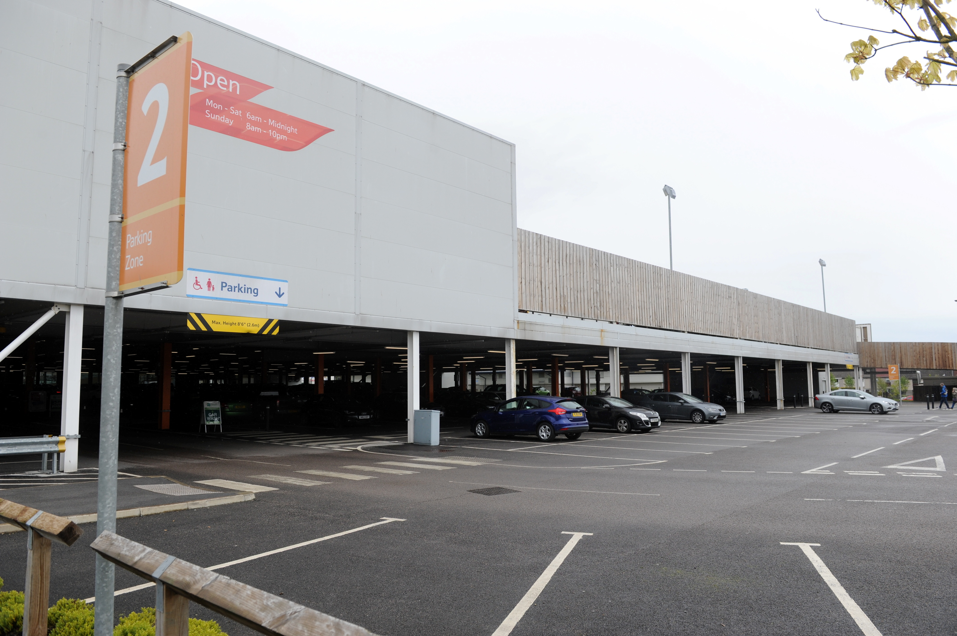 Spare:  Tesco said that it can afford to lose some of its spaces.