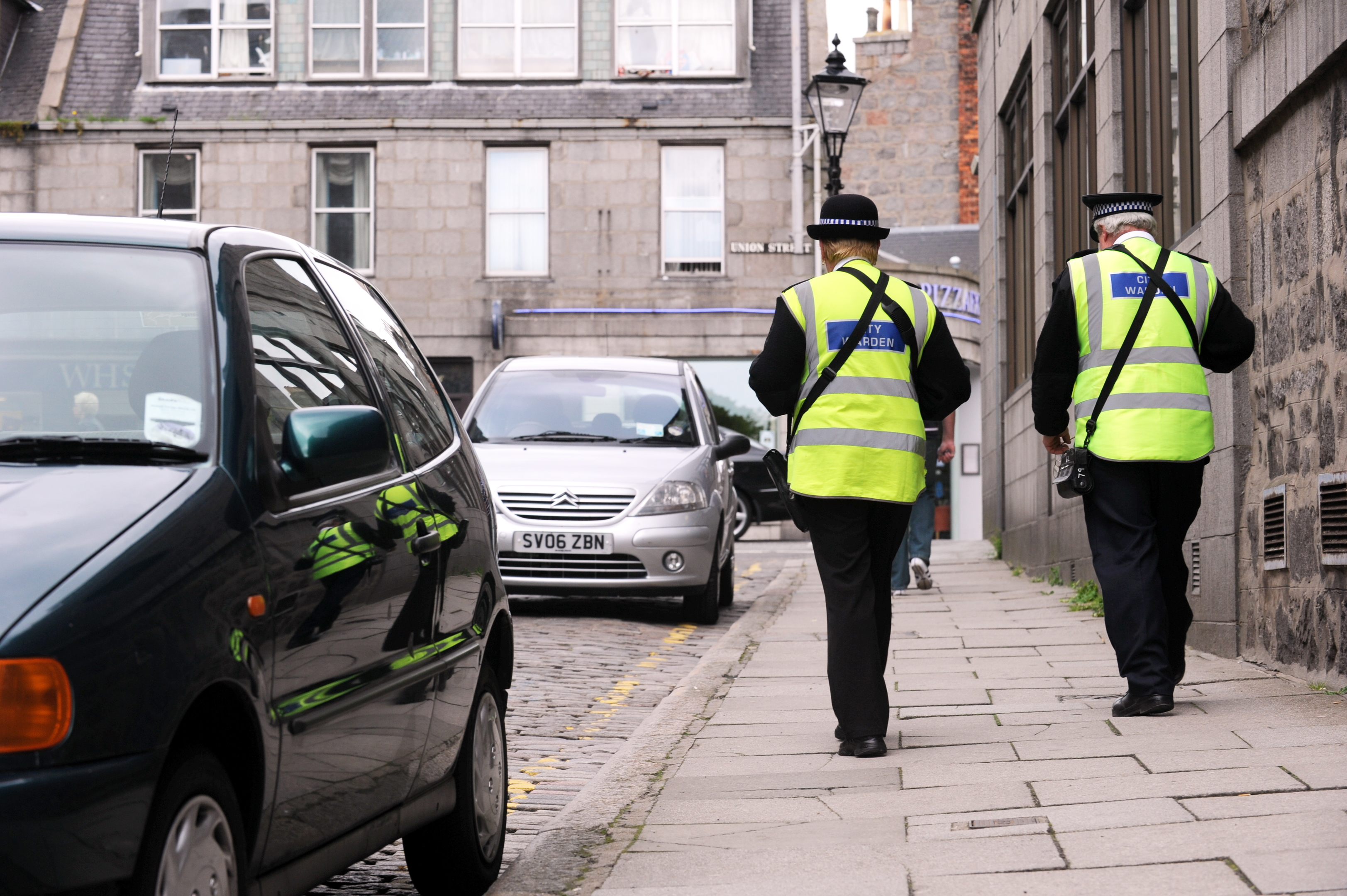 PATROLS: More than £73 million was brought in across Scotland.
