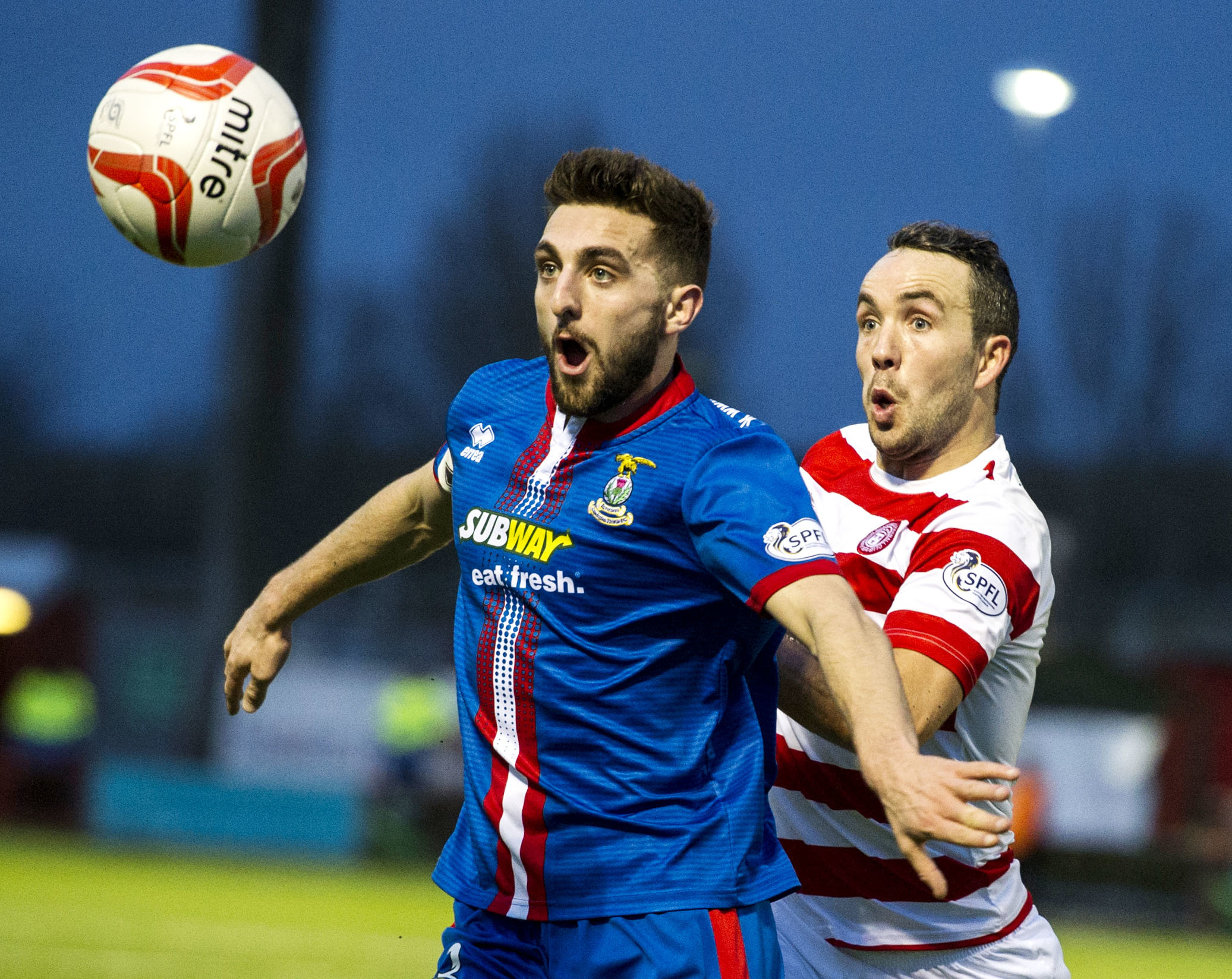 Inverness Caledonian Thistle's Graeme Shinnie will join Aberdeen this summer.