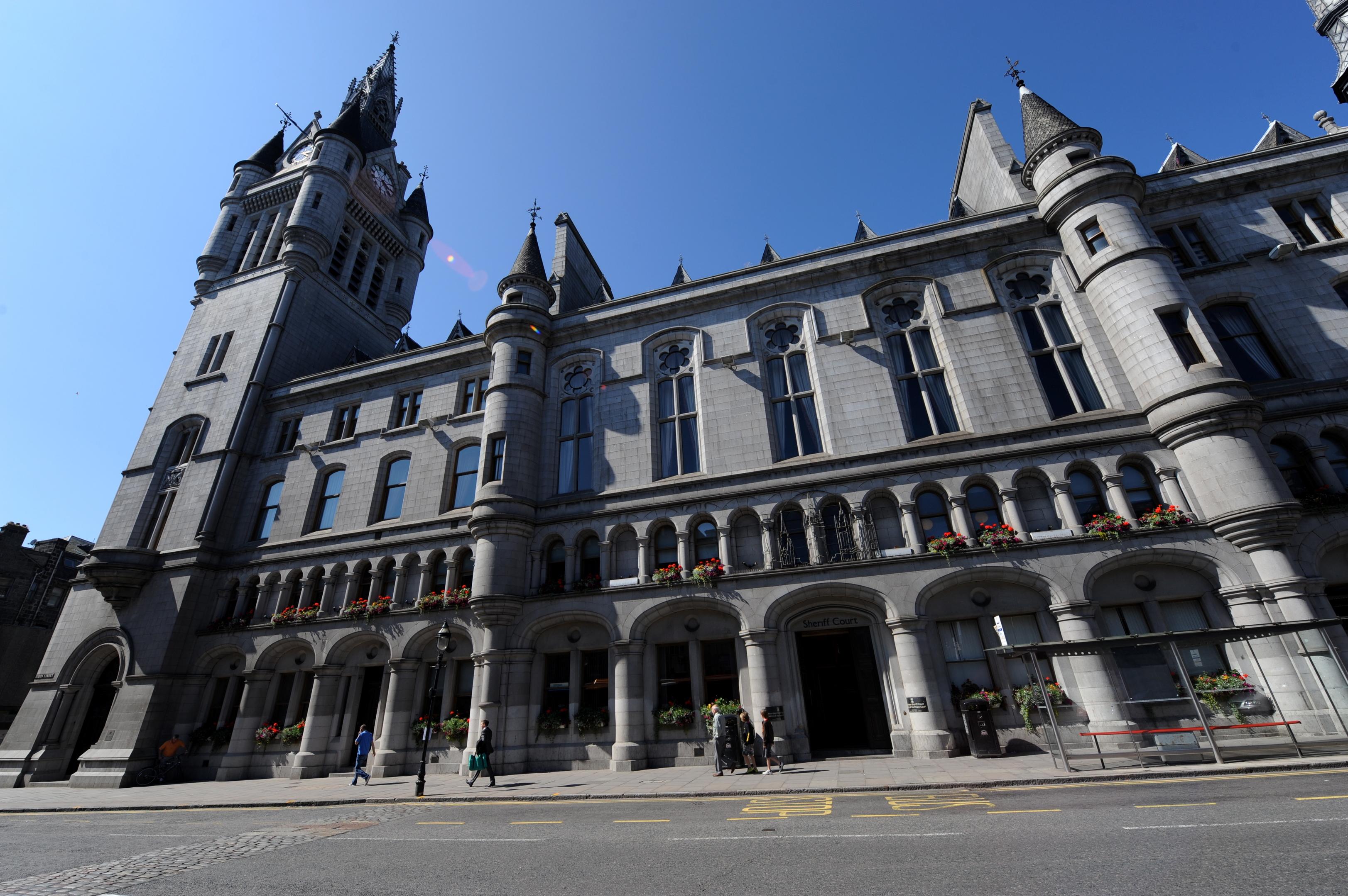 Aberdeen Sheriff Court,