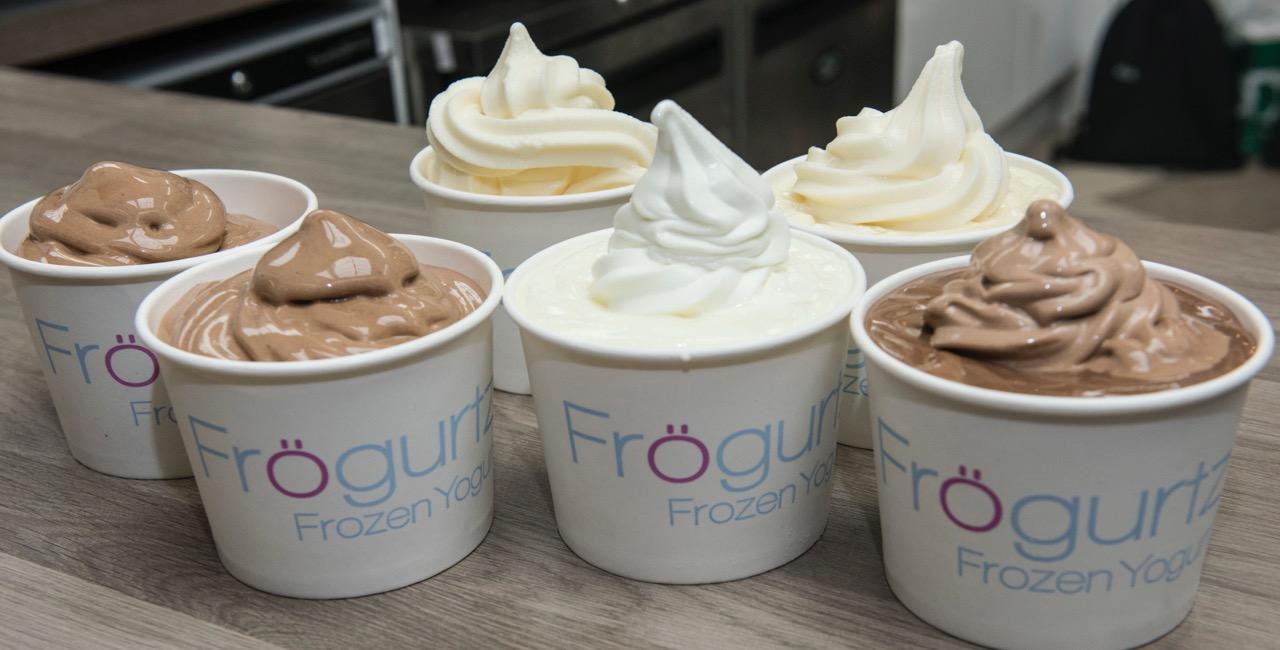 Frozen yoghurt at Forgurtz.l