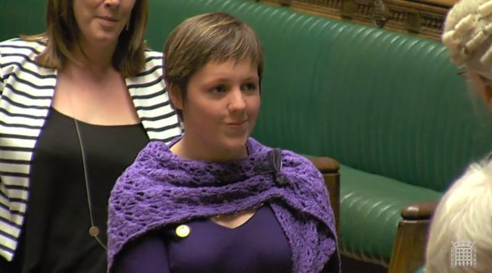 Kirsty Blackman. Picture courtesy of UK Parliament.