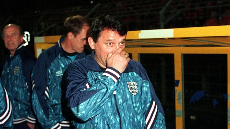 Graham Taylor was manager of England for just over three years.