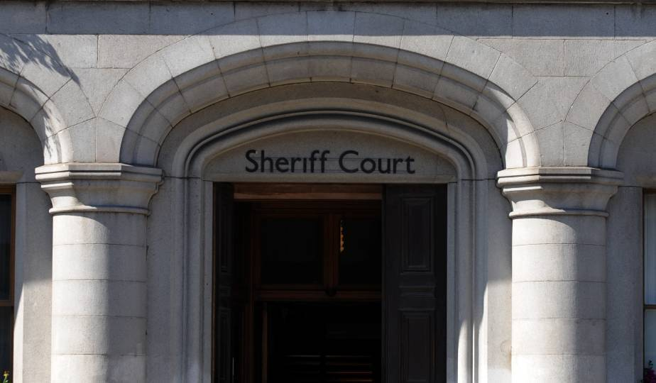 Michael Bruce appeared at Aberdeen Sheriff Court.