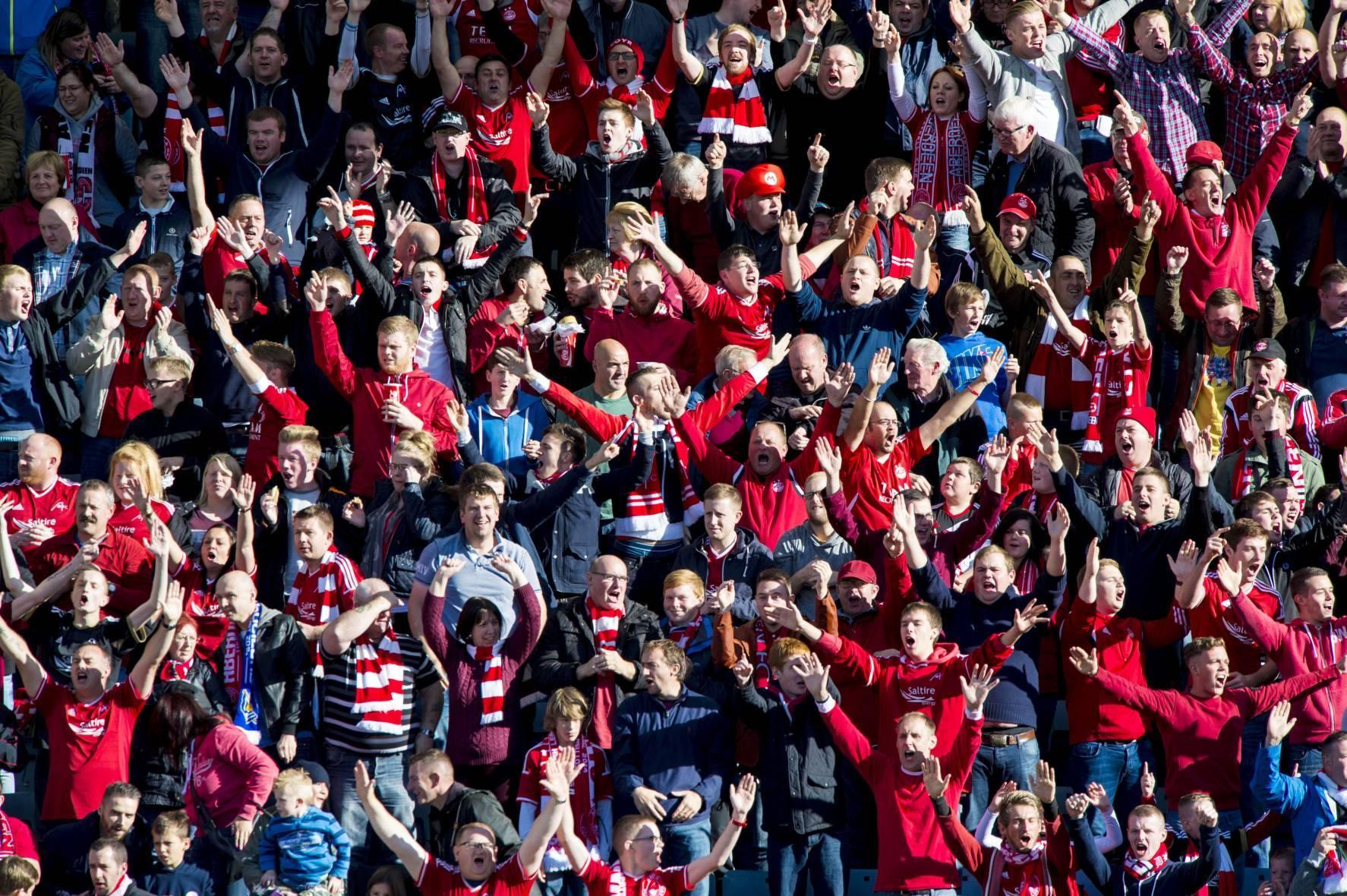 More than 62,000 fans followed Aberdeen FC on their travels this season.