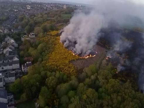 Drone picture by reader Derek Gordon.