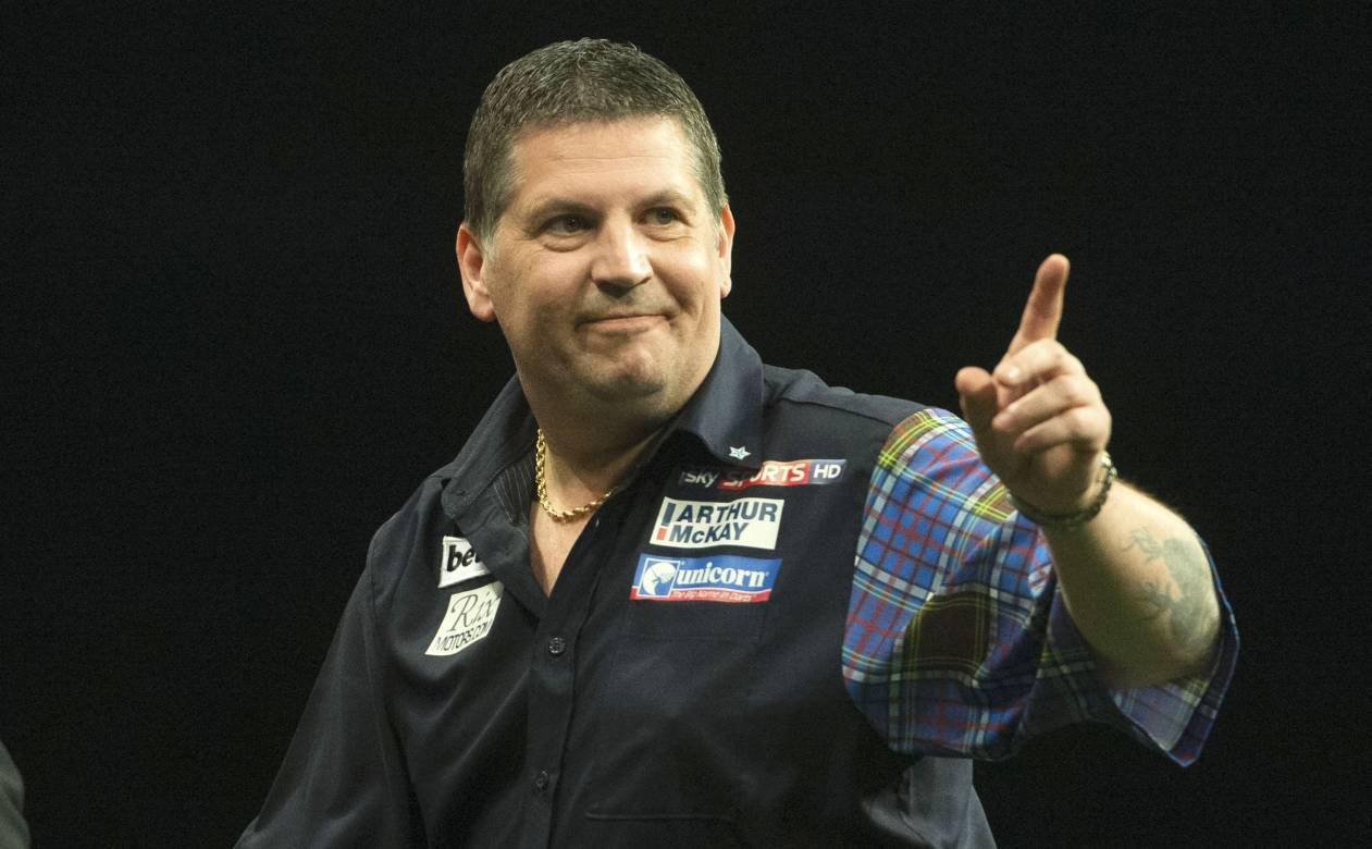 Gary Anderson is coming to Aberdeen.