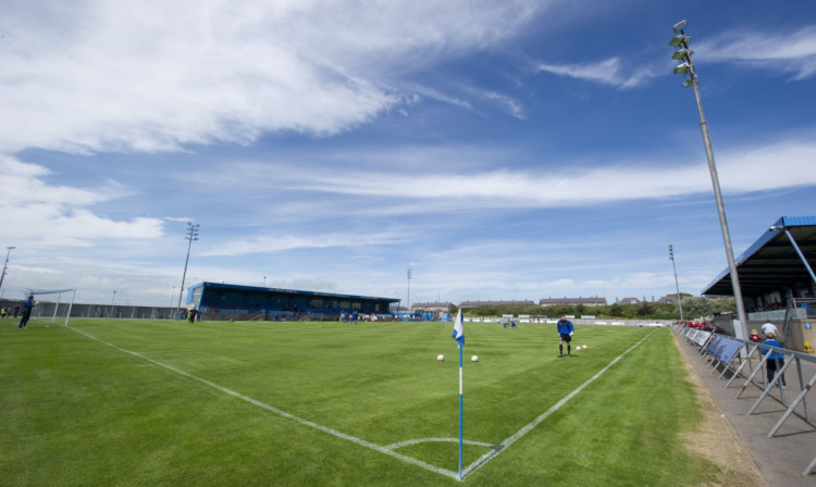 Balmoor Stadium in Peterhead