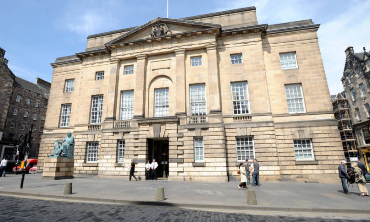 The case called at the Court of Session in Edinburgh