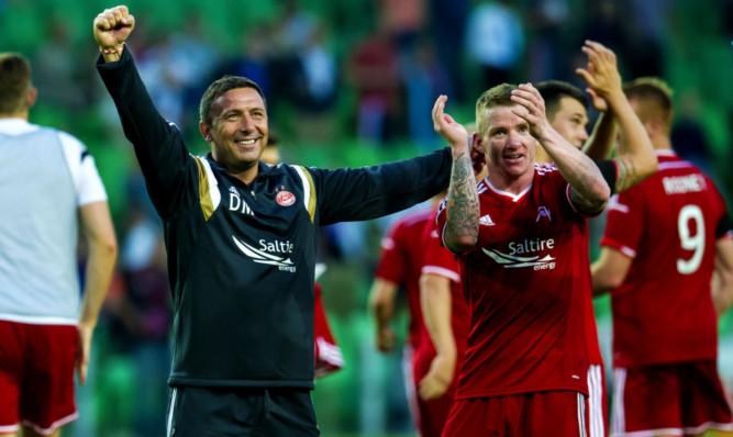 Derek McInnes has led Aberdeen FC to second spot in the Premiership.