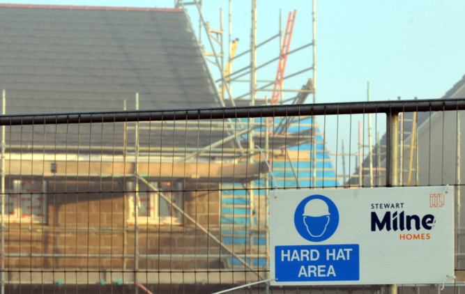 Stewart Milne had planned to build 85 homes on the site in Cults