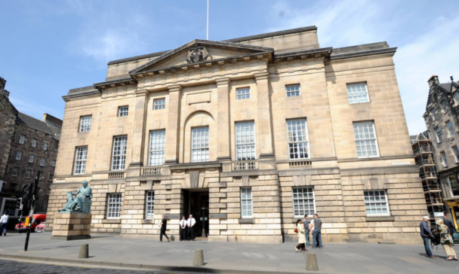 The Court of Criminal Appeal in Edinburgh.