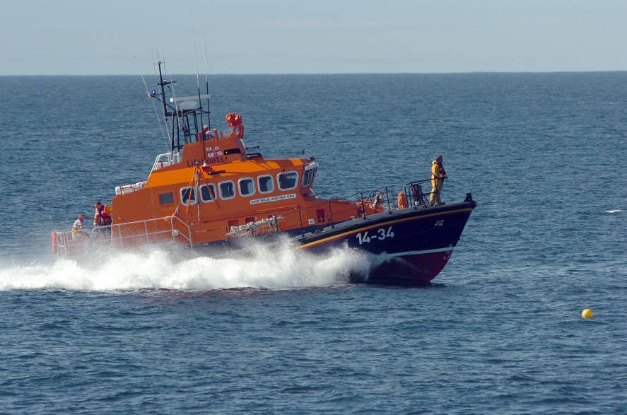 The Fraserburgh lifeboat