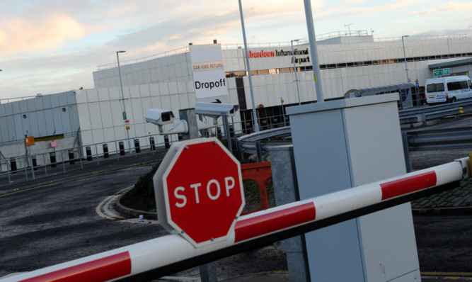 From today, drivers will be charged £2 for up to 15 minutes in Aberdeen airports forecourt area.