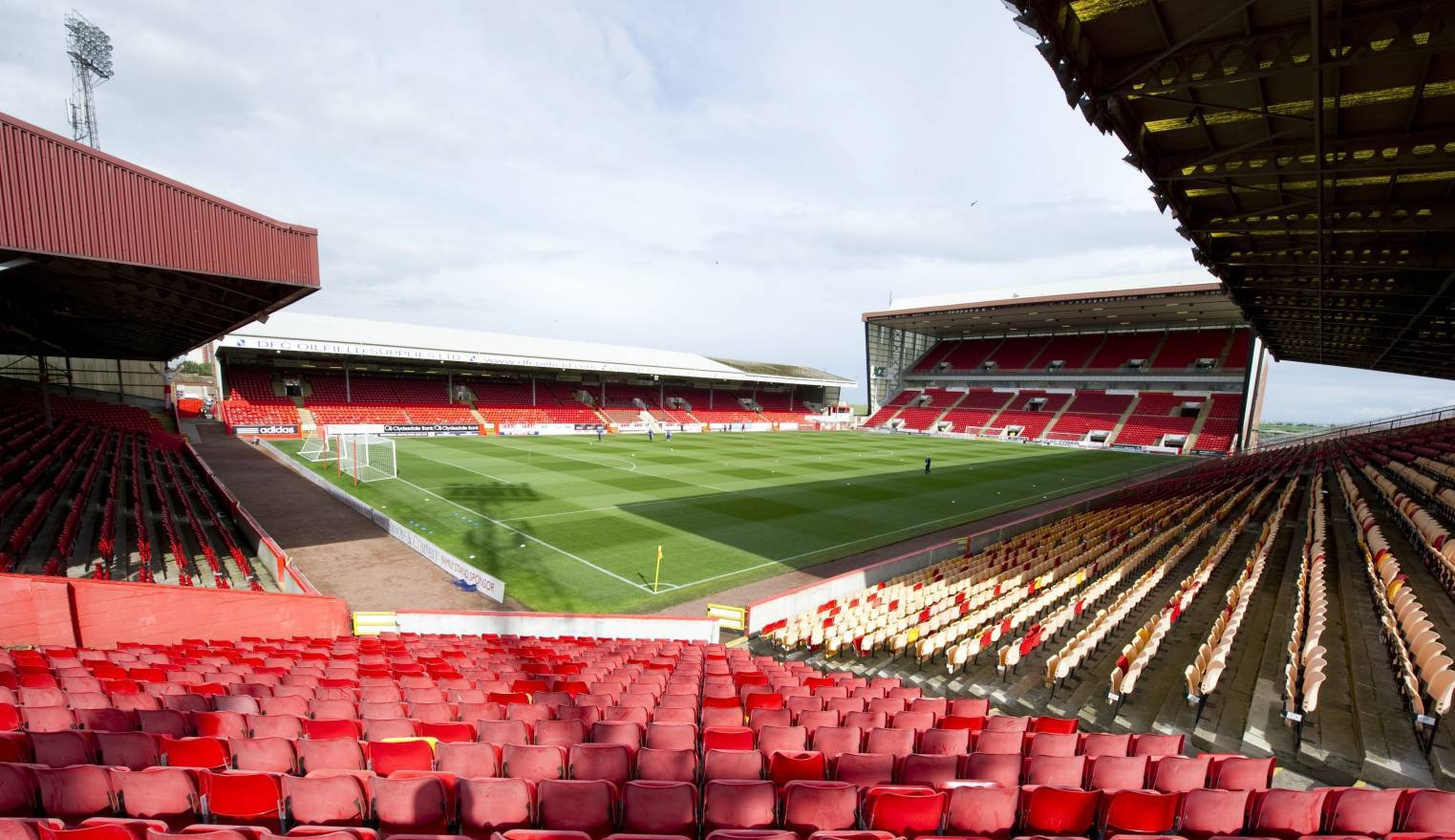 Fans aren't expected at Pittodrie for some time.