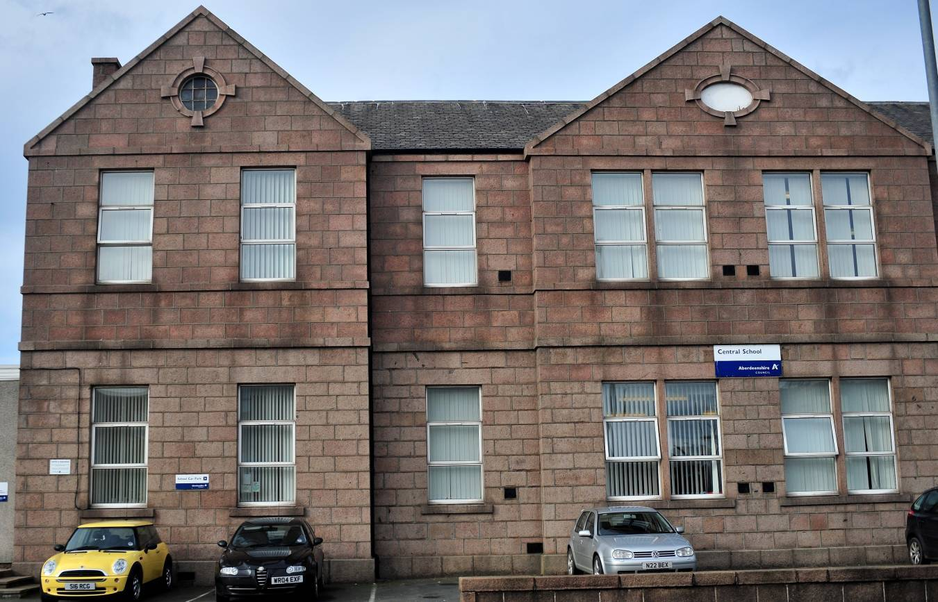 The Central School in Peterhead