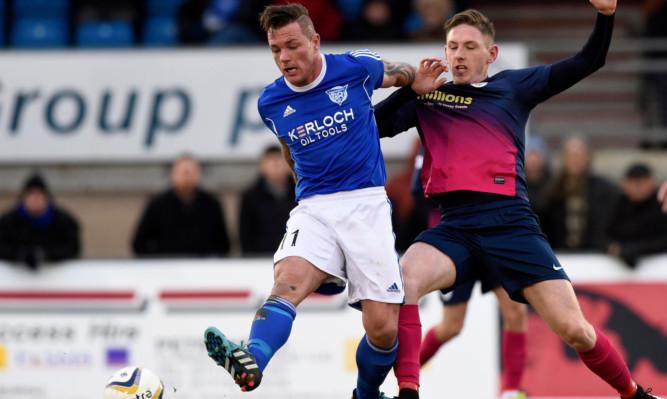 Declan McManus scored as Greenock Morton won League One.
