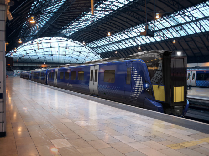 Rolling stock: The new faster trains being built for Abellio.