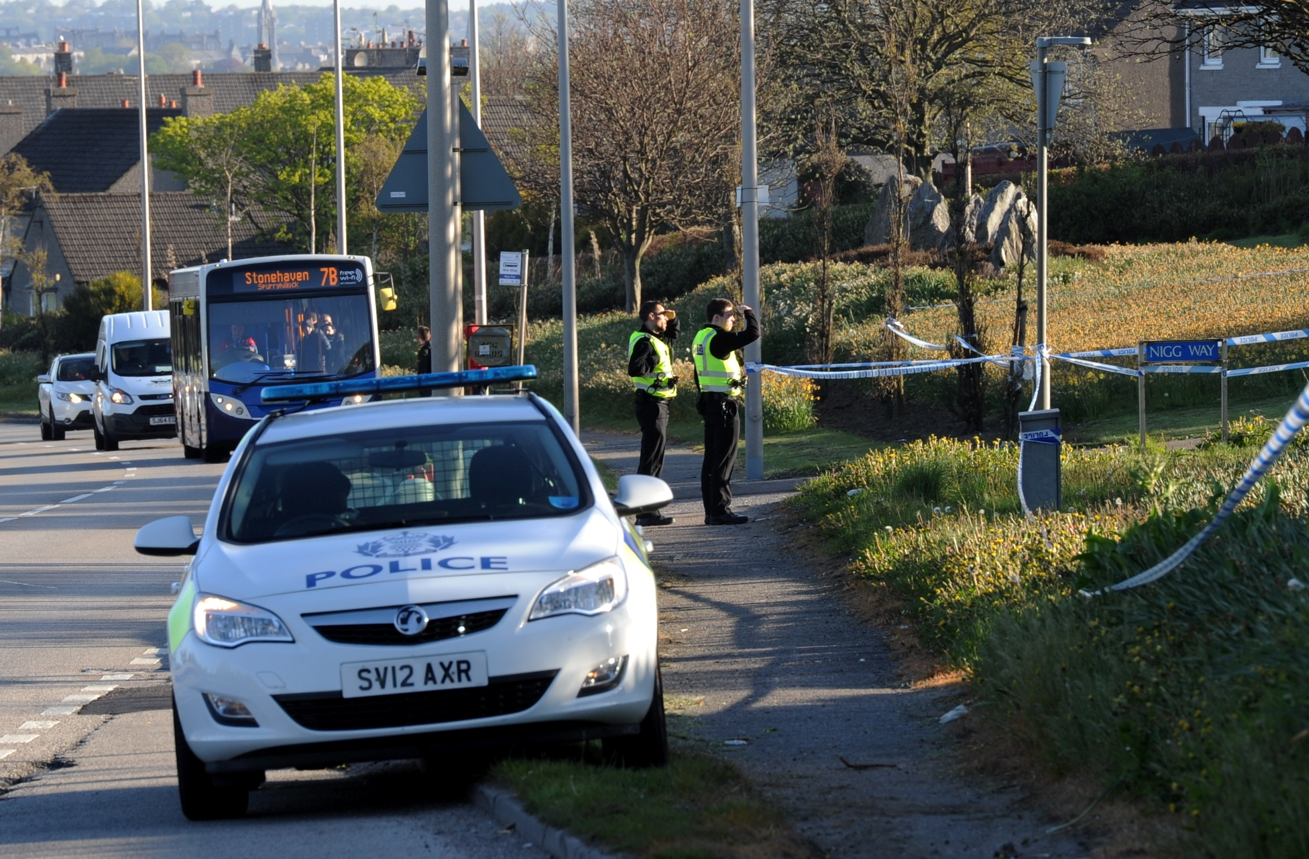 Four men have been released from custody following an 'altercation' in Aberdeen