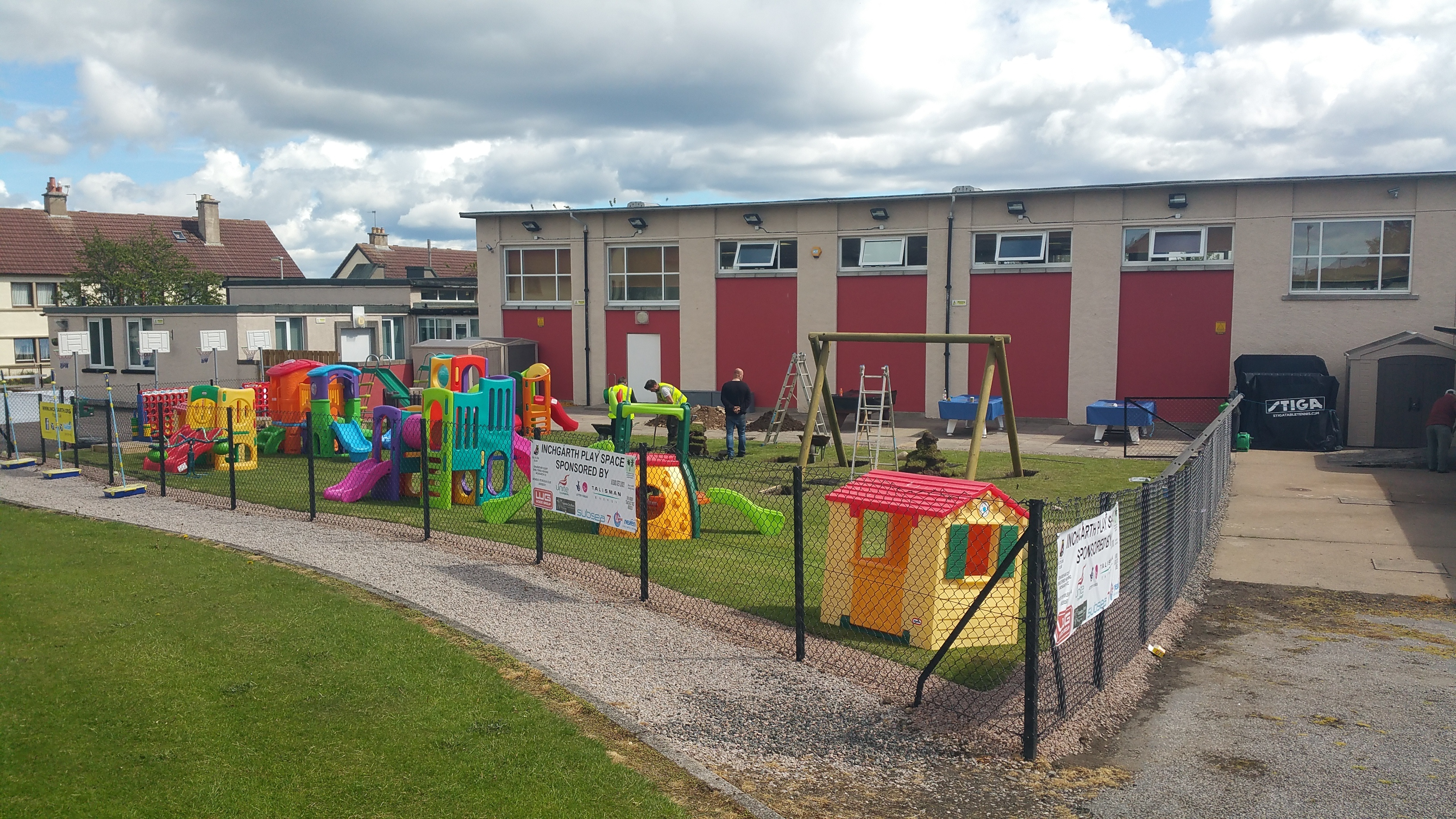 The play area at Inchgarth Community Centre in Garthdee