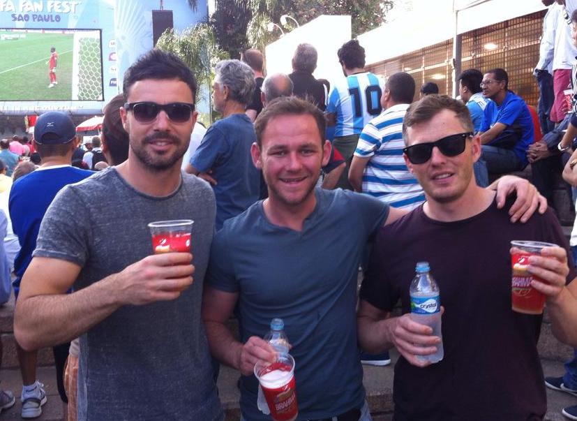 Creator John Gordon (middle), with Premier Punt directors Andy Daykin (left) and Jonny Wardman.