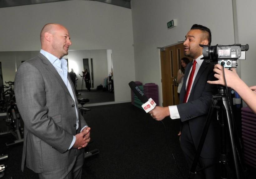 Alan Shearer speaks to Evening Express reporter Anthony Joseph.