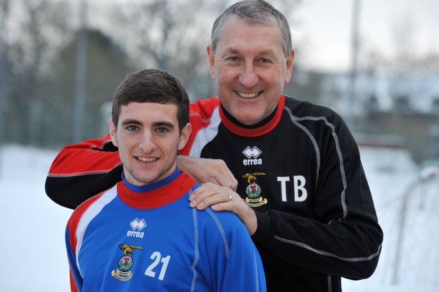 Graham Shinnie signed for Inverness CT in 2009.
