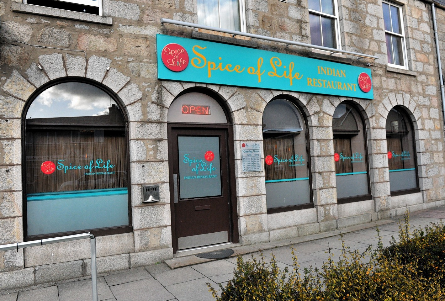 Spice of Life on Market Place, Inverurie