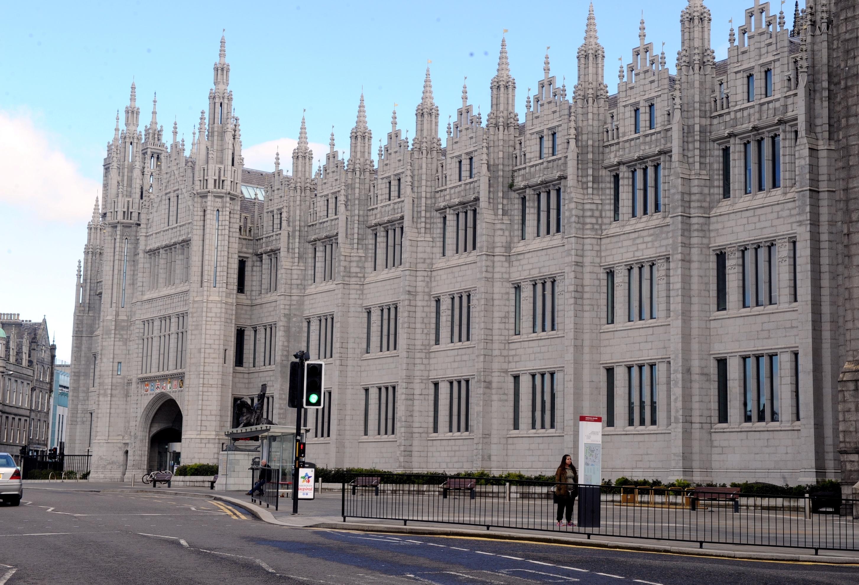 Aberdeen Marischal College.